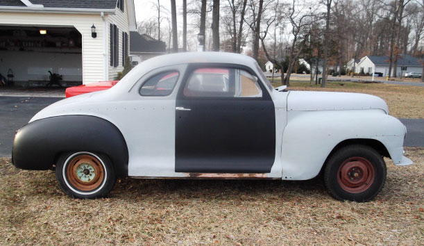 1948 Plymouth Business Coupe Special