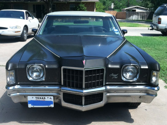 1972 Pontiac  Grand Prix Model SJ