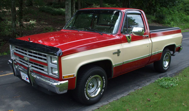 1987 Chevy Silverado Pickup Cars On Line Com Classic Cars For Sale