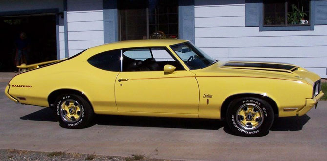 1970 Oldsmobile  Rallye Cutlass
