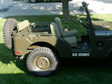 1953 Willys  Military Jeep