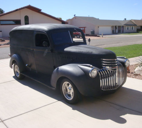 1946 Chevy Panel Truck Cars On Line Com Classic Cars For Sale