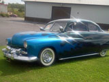 1951 Mercury 2Dr Custom Coupe