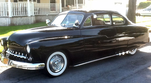 1951 Mercury 2 Door Coupe