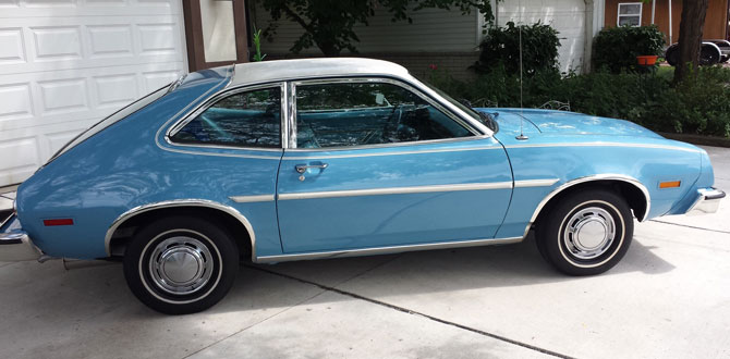 1978 Ford Pinto Hatchback Cars On Line Com Classic Cars For Sale