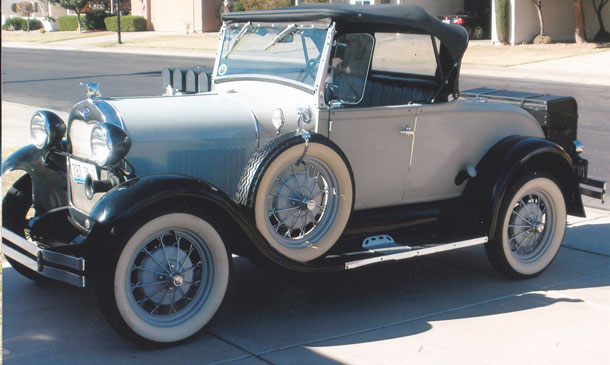 1930 Ford Model A Shay Roadster