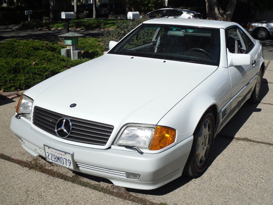 1992 Mercedes 500SL Convertible