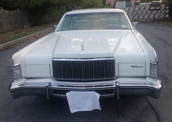 1976 Lincoln Continental Town Coupe Cars On Line Com Classic
