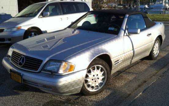 1997 Mercedes SL500 Roadster