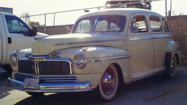 1946 mercury 4 door sedan