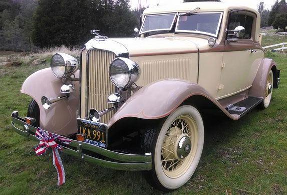 1932 Chrysler 3 Window R/S Coupe