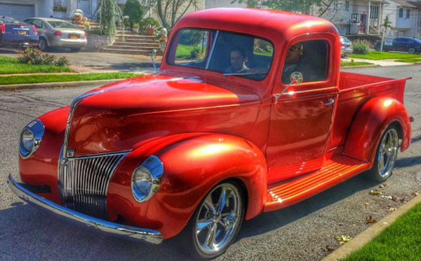 Chevy Truck Wheels >> 1940 Ford Pickup