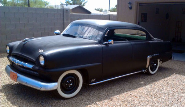 1953 plymouth cranbrook rat rod