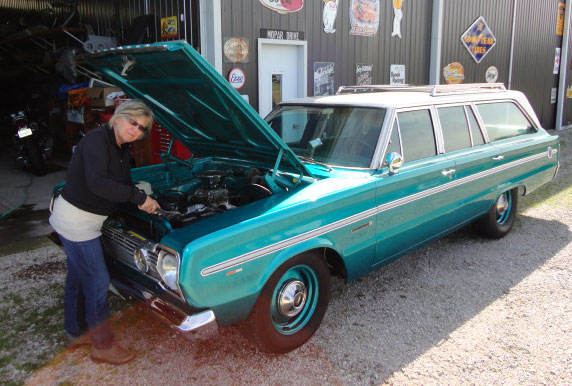 1966 Plymouth Belvedere Station Wagon