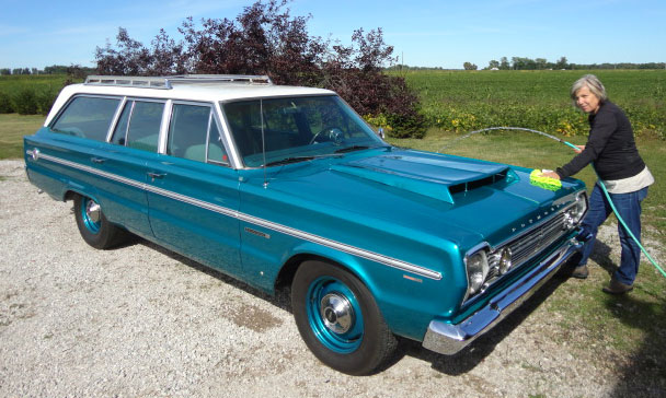 Classic Muscle Cars For Sale >> 1966 Plymouth Belvedere Station Wagon