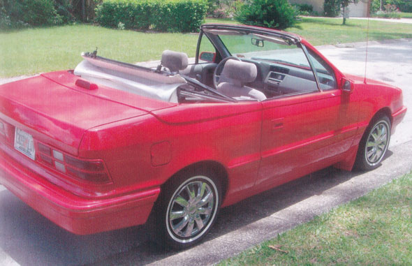 1993 Dodge Shadow Convertible