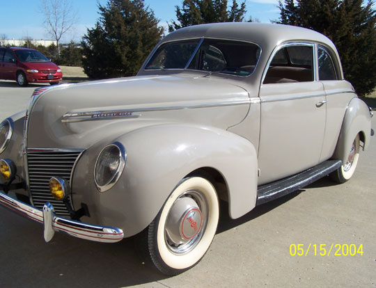 1939 Mercury Coupe Sedan