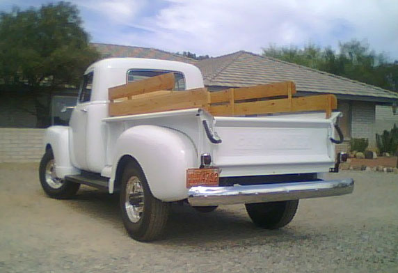 1953 chevy 3 4 ton 3600 pickup. Black Bedroom Furniture Sets. Home Design Ideas