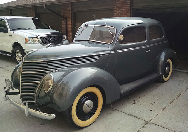 Fords For Sale >> 1938 Ford 2-Door Humpback Sedan