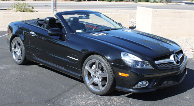 2009 Mercedes SL550 Convertible