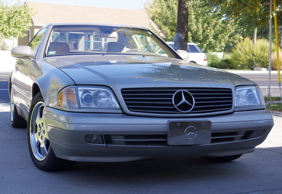 1999 mercedes sl500 convertible for Mercedes benz sl500 convertible top parts