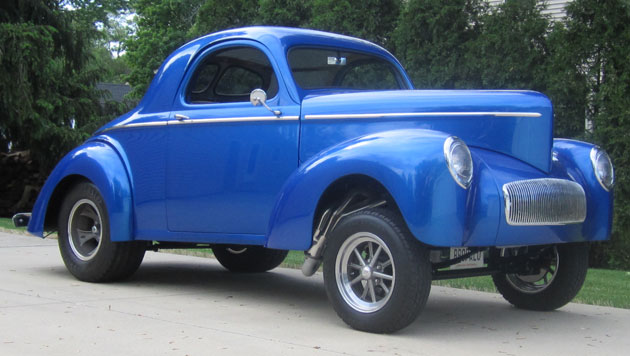 1941 Willys Gasser Coupe