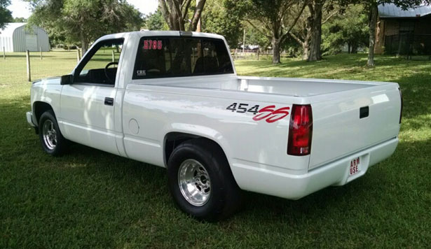White 454 ss truck for sale