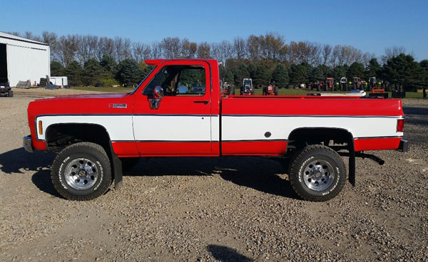 1974 gmc 3 4 ton 4x4 pickup. Black Bedroom Furniture Sets. Home Design Ideas