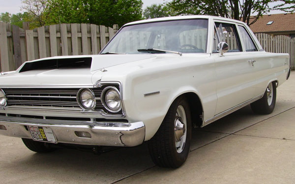 1967 Plymouth Belvedere I SS Clone