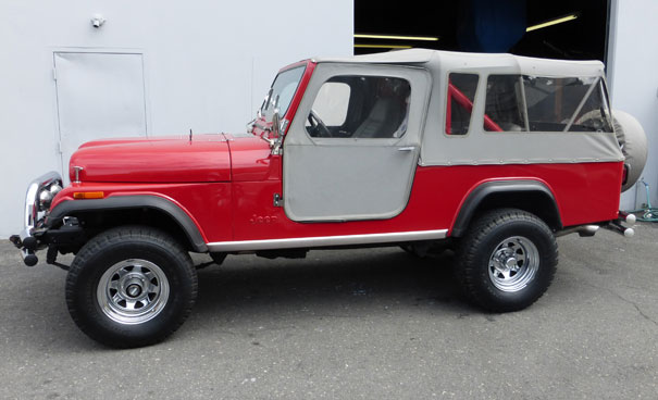 1982 Jeep CJ8 Scrambler