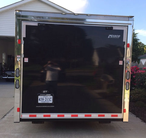 2011 24ft Paceshadow GT Trailer