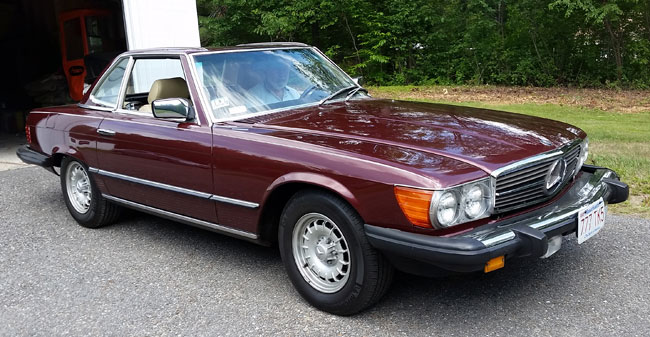 1985 Mercedes 380 SL Roadster