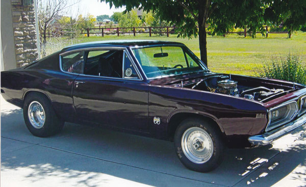 1968 Plymouth Barracuda Drag Car