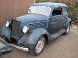 1935 Ford 2 Door Slantback