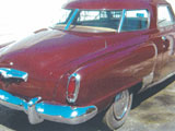 1950 Studebaker Commander Starlight Coupe
