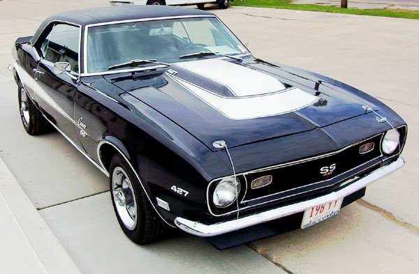 1968 Camaro Ss Coupe