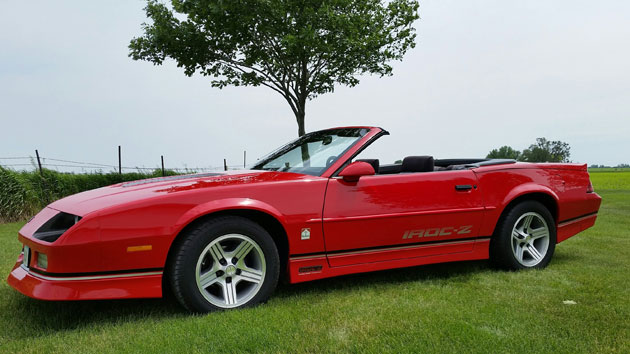 1990 camaro iroc z convertible cars on line com classic cars for sale 1990 camaro iroc z convertible cars