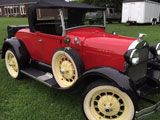 1929 Ford Model A Super Deluxe Roadster