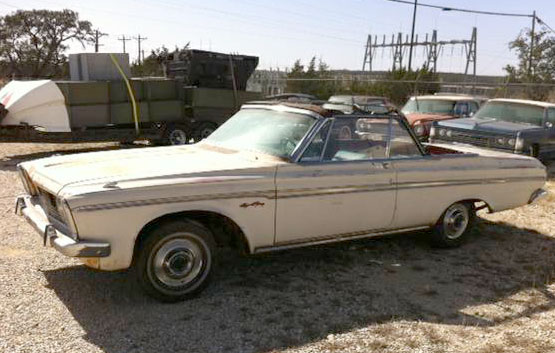 1963 Plymouth  Sport Fury Convertible