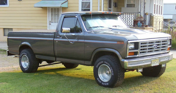 1985 Ford F-150 Lariat Pickup