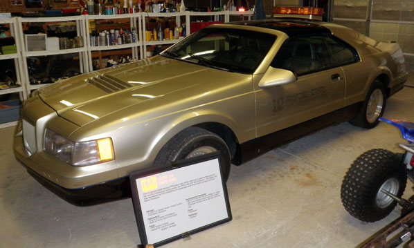 1989 Lincoln  Mark VII Pace Car