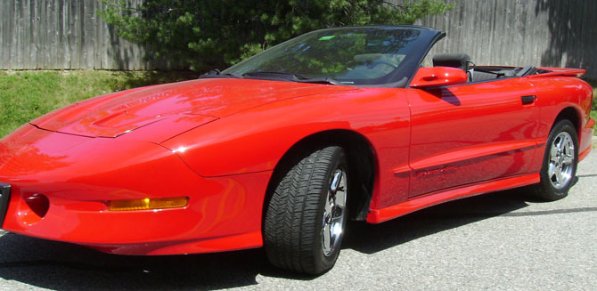 1997 Pontiac  Trans Am Convertible