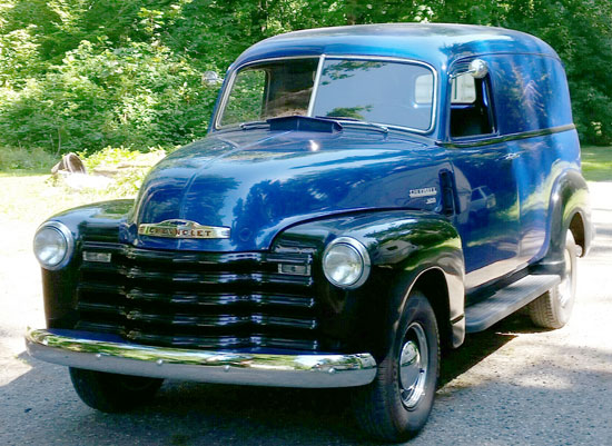 1950 Chevy 3100 Panel Truck