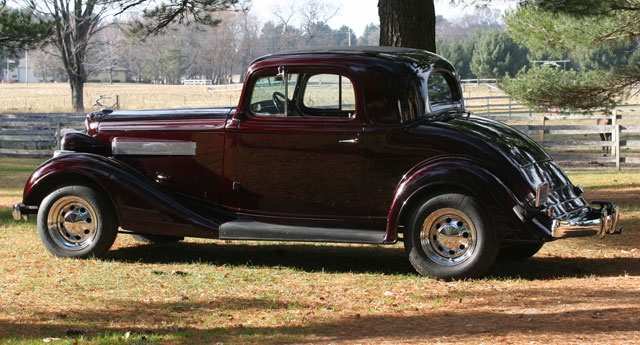 1934 Pontiac 3 Window Coupe