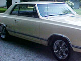 1965 Olds 442 2 Door Holiday Coupe