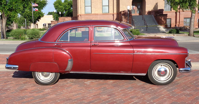 1949 chevy deluxe 4 door