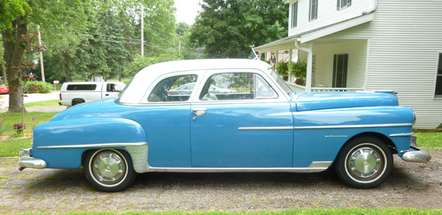 1950 Chrysler Newport 88 Royal Deluxe