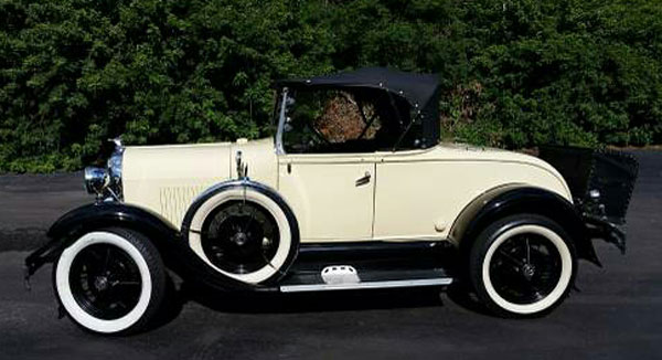 1929 Shay Model A  Super Deluxe