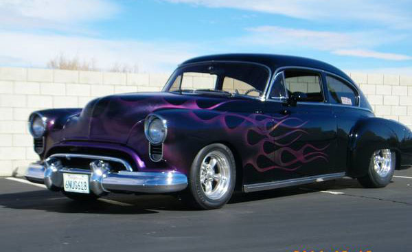 1949 Oldsmobile Futuramic 76 Slantback