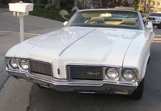 1970 Olds Cutlass SX Convertible